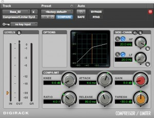 digirack compressor limiter Musik-Software